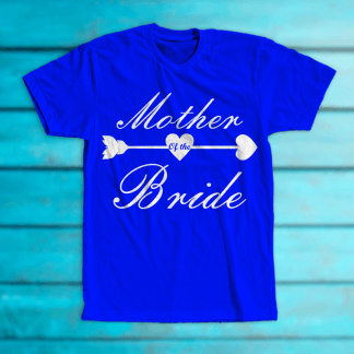 """Tricou """"Mother of the bride"""""""